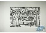 Offset Print, Loustal : Crocodiles' Farm (little marks in the paper)