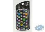 Mobile Accessory, Etrange Noël de Mr. Jack (L') : Coque Iphone 4G, Tête de Mr Jack couleur