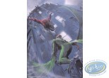 Offset Print, Spiderman : Spiderman vs the Vulture