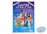 Offset Print, Advertising poster 'Contes dè bon vî tins' of Walthéry