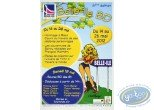 Offset Print, Advertising poster 'Belle-Ile B.D 2012' of Walthéry (Big size)