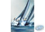 Lithography, Illustrateur : America's Cup - Valencia