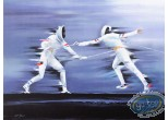 Lithography, Illustrateur : Fencing
