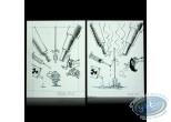 Originals, Game Over : Original drawings - Game Over - Midam / Adam
