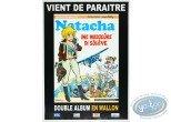 Offset Print, Advertising poster en wallon 'Natacha Ine Wadjeûre di sôlêye' of Walthéry (Big size)