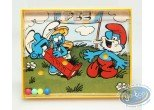 Toy, Smurfs (The) : Smurf's game Pez - yellow