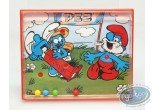 Toy, Smurfs (The) : Smurf's game Pez - red