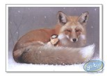 Offset Print, Féerie : Elf sleeping and fox