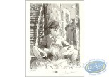 Bookplate Offset, Sang de Lune : Boy Reading
