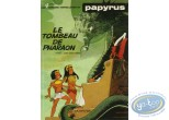 Listed European Comic Books, Papyrus : Le tombeau de pharaon + Autograph