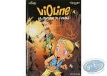 Listed European Comic Books, Violine : La caverne de l'oubli + Autograph