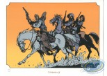Bookplate Serigraph, Piste des Ombres (La) : Riding