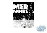 Serigraph Print, Largo Winch : Mer Noire (b&w)