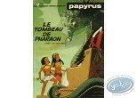 Listed European Comic Books, Papyrus : Le tombeau de pharaon + Autograph