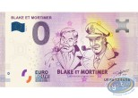 Coin, Blake and Mortimer : Banknote Euro Souvenir 02