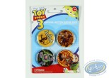 Pin's, Toy Story : 4 buttons Toy Story, Disney ( 2nd version)