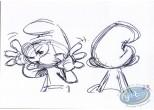 Post Card, Smurfs (The) : Grimace - Expo Peyo