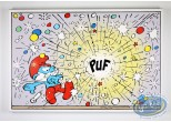 Printed Canvas, Smurfs (The) : Puf