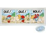 Printed Canvas, Smurfs (The) : Olé