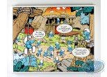 Printed Canvas, Smurfs (The) : The Camp
