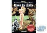 Adult European Comic Books, Giuseppe Bergman : To see again stars, Manara + silk-screens