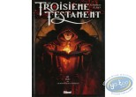 Listed European Comic Books, Troisième Testament (Le) : Comic book, Alice, Le Troisieme Testament volume 3 : Luc, ou le Souffle du Taureau (dedication)
