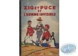 Listed European Comic Books, Zig et Puce : Zig et Puce et l'Homme Invisible (nearly good condition)