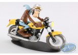 Resin Statuette, Joe Bar Team : Ted Debielle - Ducati 350 Desmo