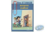 Reduced price European comic books, Modeste et Pompon : Modeste et Pompon, Dino Attanasio, Traits d'humour N°3
