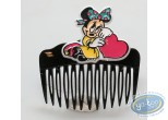 Fashion and beauty, Mickey Mouse : Black comb Minnie heart, Disney