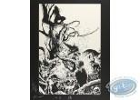 Serigraph Print, Geste des Chevaliers Dragons (La) : Festin au pied d'un arbre