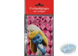 Office supply, Smurfs (The) : 6 uitnodigingen Smurfette (movie)