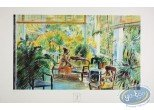 Offset Print, Equatoriales (Les) : Woman on the Veranda