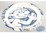 Tableware, Smurfs (The) : Assiette en mélamine - Schtroumpf Costaud