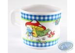 Tableware, Smurfs (The) : Mug en mélamine -  Schtroumpf en ballade