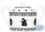 Tableware, Alice in wonderland : Alice, sugar bowl