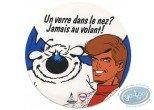 Sticker, Ric Hochet : Un verre...