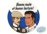Bookplate Offset, Bob Morane : Michel Vaillant et Victor Sackeville