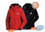 Clothes, Même pas Peeur : Jacket, Même pas peeur !! : Black Man, size: XL