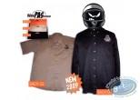 Clothes, Même pas Peeur : Shirt, black sleeves short size: XXL