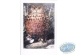 Offset Print, The eagle owl
