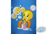 Offset Print, Titi : Bubbles 80X60 cm