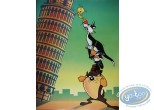 Offset Print, Looney Tunes (Les) : Italian holiday 80X60 cm