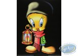 Offset Print, Titi : Tweety with a lantern 50X40 cm