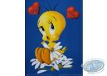 Offset Print, Titi : Affiche, Looney Tunes Titi Heart Broken 40X30 cm