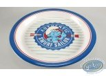 Tableware, Smurfs (The) : Melamine plate - Smurf Sailor