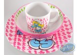Tableware, Smurfs (The) : Melamine Set - Smurfette