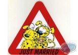 Sticker, Marsupilami : Just Married