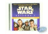 CD, Star Wars : The Phantom Menace, Episode 1: The Story told with the music of John Williams, the sounds and voices of the film