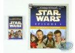 CD, Star Wars : The Phantom Menace, Episode 1: The Story told K7 + small album